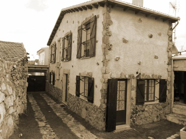 Casa rural el corral de la antigua nava de b jar salamanca - Fotos de casas antiguas ...